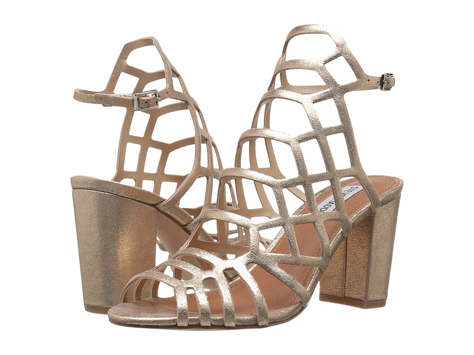 Steve Madden Dafine (Gold) High Heels