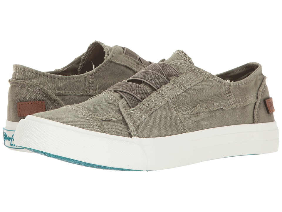 Blowfish Marley (Steel Grey Color Washed Canvas) Women's ...