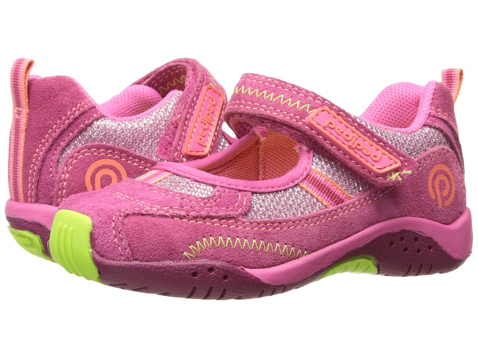 pediped - Dakota Flex (Toddler/Little Kid/Big Kid) (Rosebud) Girls Shoes