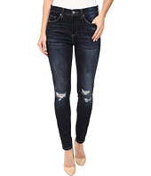 Blank NYC - Mid-Rise Distressed Blue Skinny in Fully Loaded