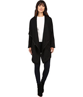 Blank NYC - Long Black Jacket in Blackout