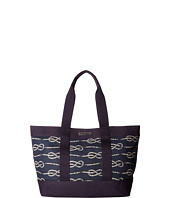 Tommy Hilfiger - Daphne Tote Knotted Rope Print Canvas