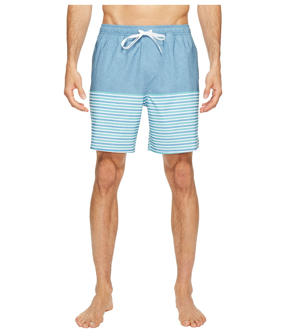 Quiksilver Waterman Breezy Stripe Volley Shorts (Provencial) Men