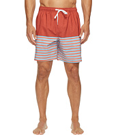 Quiksilver Waterman - Breezy Stripe Volley Shorts