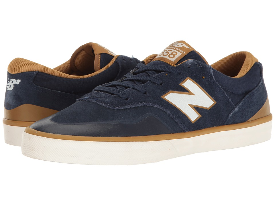New Balance Numeric - NM358 (Navy/Mustard) Mens Skate Shoes