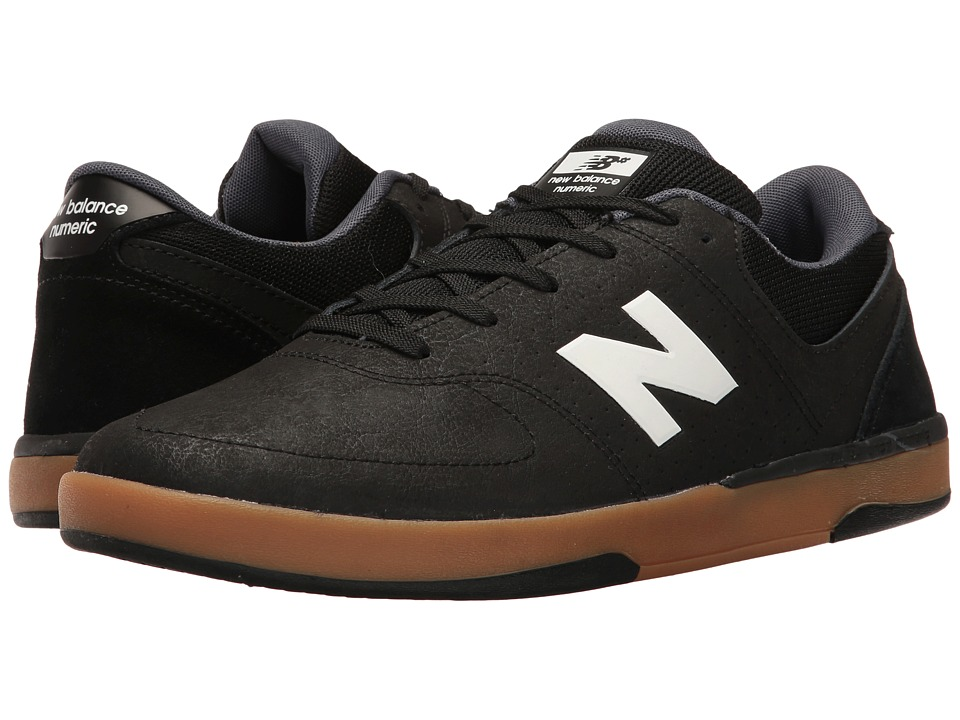 New Balance Numeric - NM533 (Black/White/Gum) Mens Skate Shoes