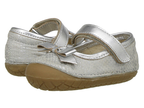 Old Soles Pave Gabs (Infant/Toddler) - Silver Python/Silver