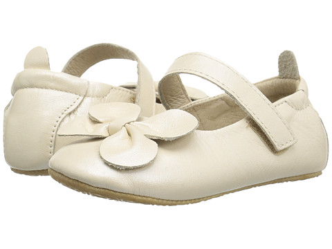 Old Soles Gab-Bow (Infant/Toddler) - Pearl Metallic