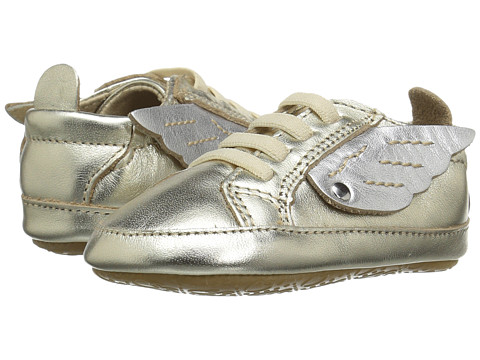Old Soles Bambini Wings (Infant/Toddler) - Gold/Silver