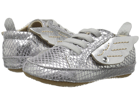 Old Soles Bambini Wings (Infant/Toddler) - Lavender Snake/Silver