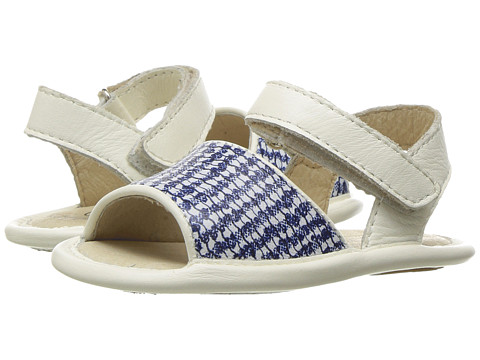 Old Soles Bambini Amalfi (Infant/Toddler) - Blue/Bianco/White