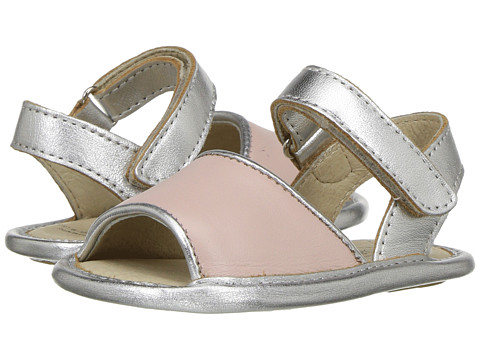 Old Soles Bambini Amalfi (Infant/Toddler) - Powder Pink/Silver