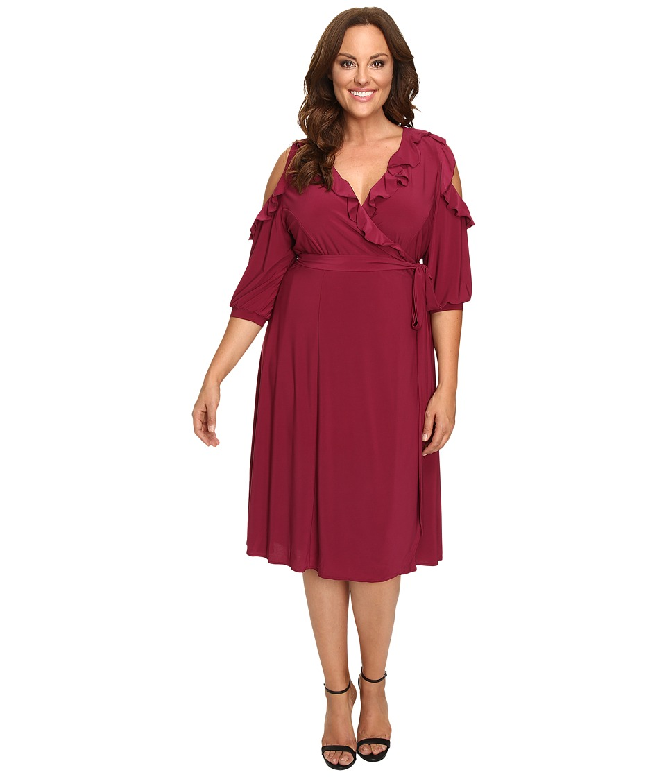 Kiyonna Kiyonna - Barcelona Wrap Dress