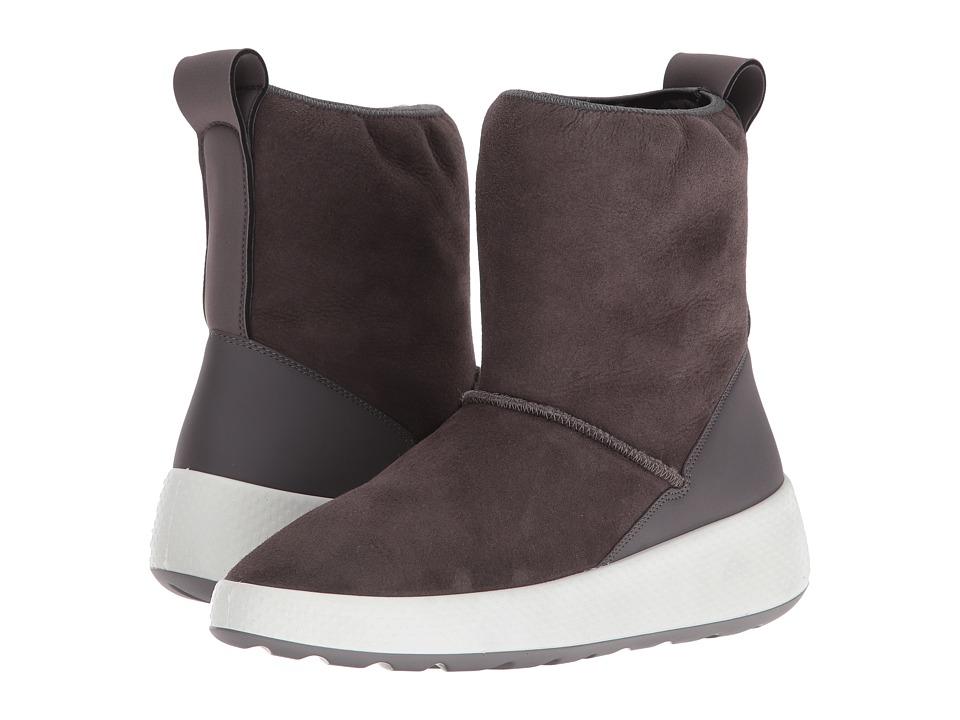 ECCO - Ukiuk Short Boot (Slate/Slate) Women
