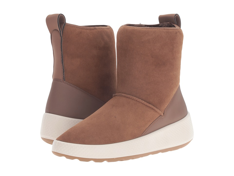 ECCO - Ukiuk Short Boot (Cocoa Brown/Cocoa Brown) Women