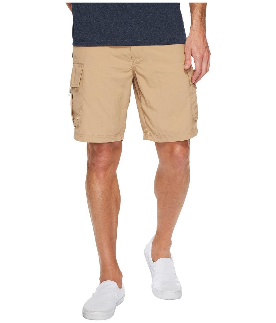 Quiksilver Waterman Skipper Cargo Shorts (Khaki) Men