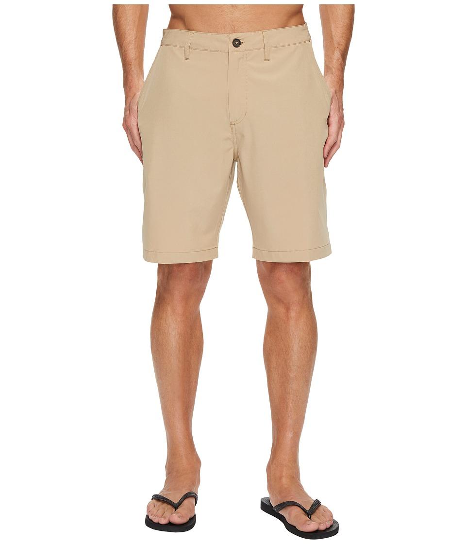 Quiksilver Waterman Vagabond 2 Shorts (Khaki) Men