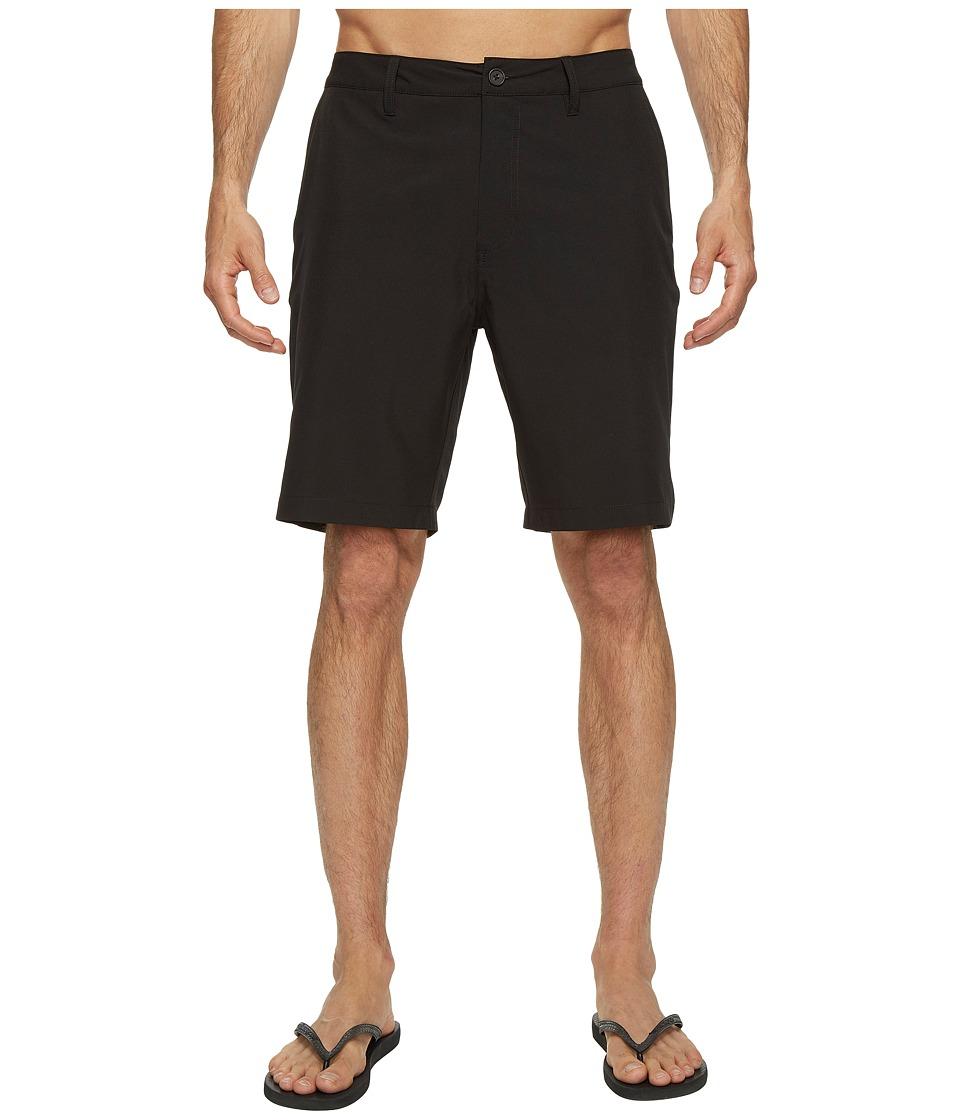 Quiksilver Waterman - Striker 3 Shorts (Black) Mens Shorts