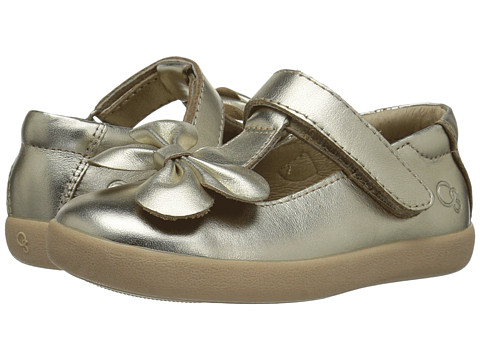 Old Soles T-Bow (Toddler/Little Kid) - Gold
