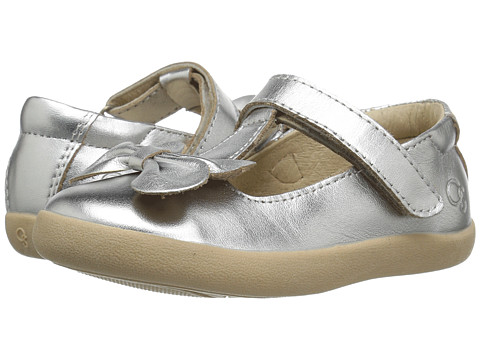 Old Soles T-Bow (Toddler/Little Kid) - Silver