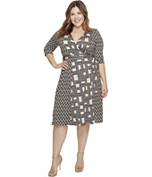 Kiyonna - In the Mix Wrap Dress