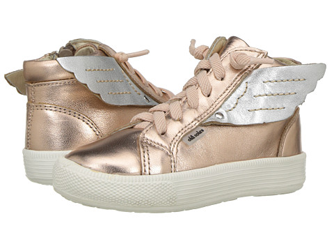 Old Soles Urban Wings (Toddler/Little Kid) - Copper/Silver