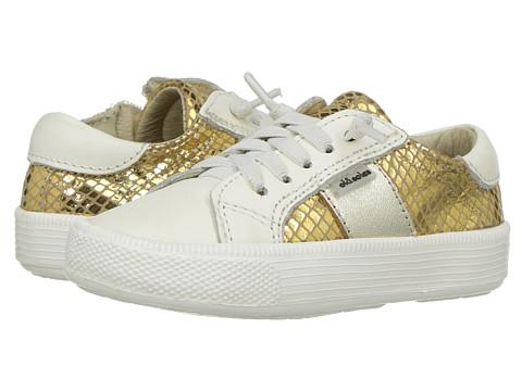 Old Soles Legend Shoe (Toddler/Little Kid) - Gold Snake/Gold/White