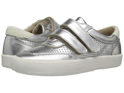 Old Soles R-Racer (Toddler/Little Kid) - Silver/White