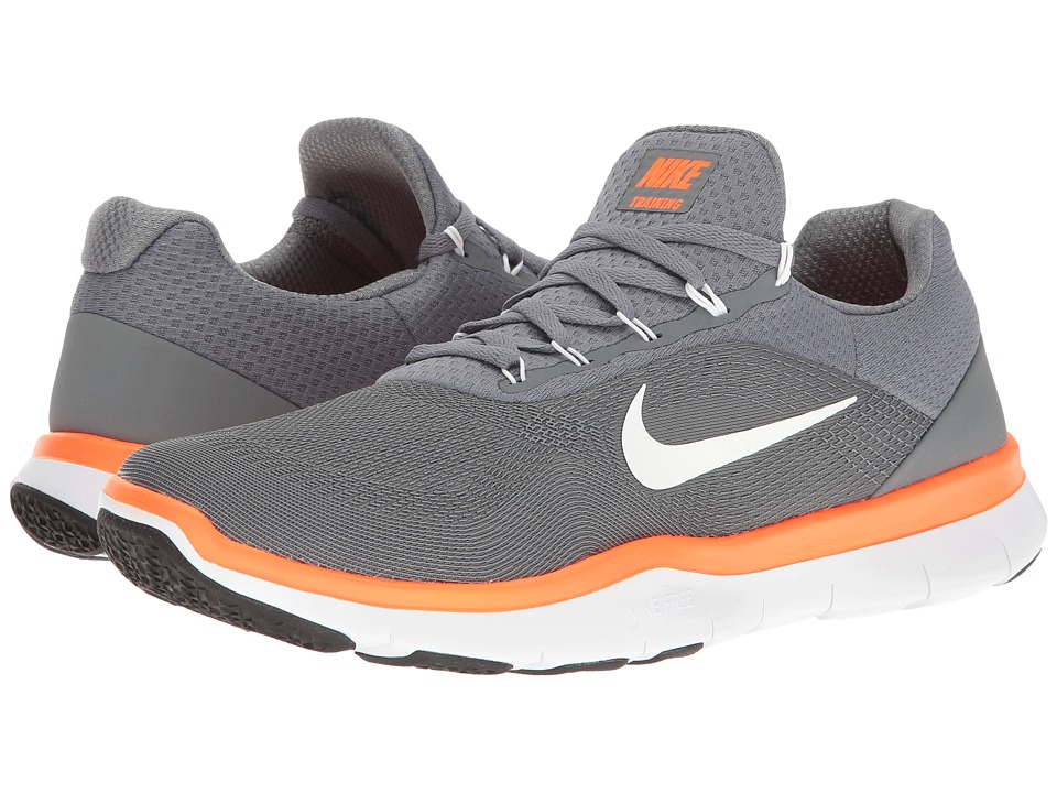 Nike - Free Trainer v7 (Cool Grey/Hyper Crimson/Black/White) Mens Cross Training Shoes