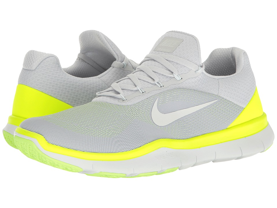 Nike Free Trainer v7 (Pure Platinum/Volt/Ghost Green/Off-White) Men