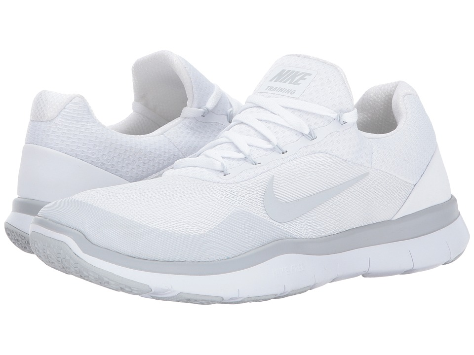 Nike Free Trainer v7 (White/Pure Platinum/White) Men