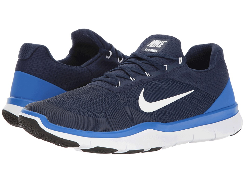 Nike - Free Trainer v7 (Binary Blue/Hyper Cobalt) Mens Cross Training Shoes