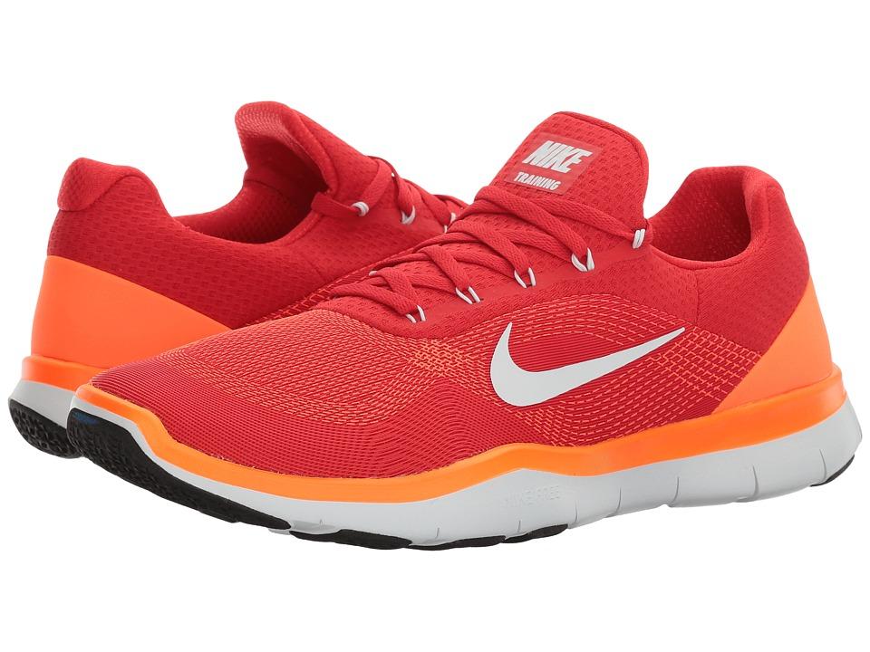 Nike Free Trainer v7 (Total Crimson/White/Ghost) Men