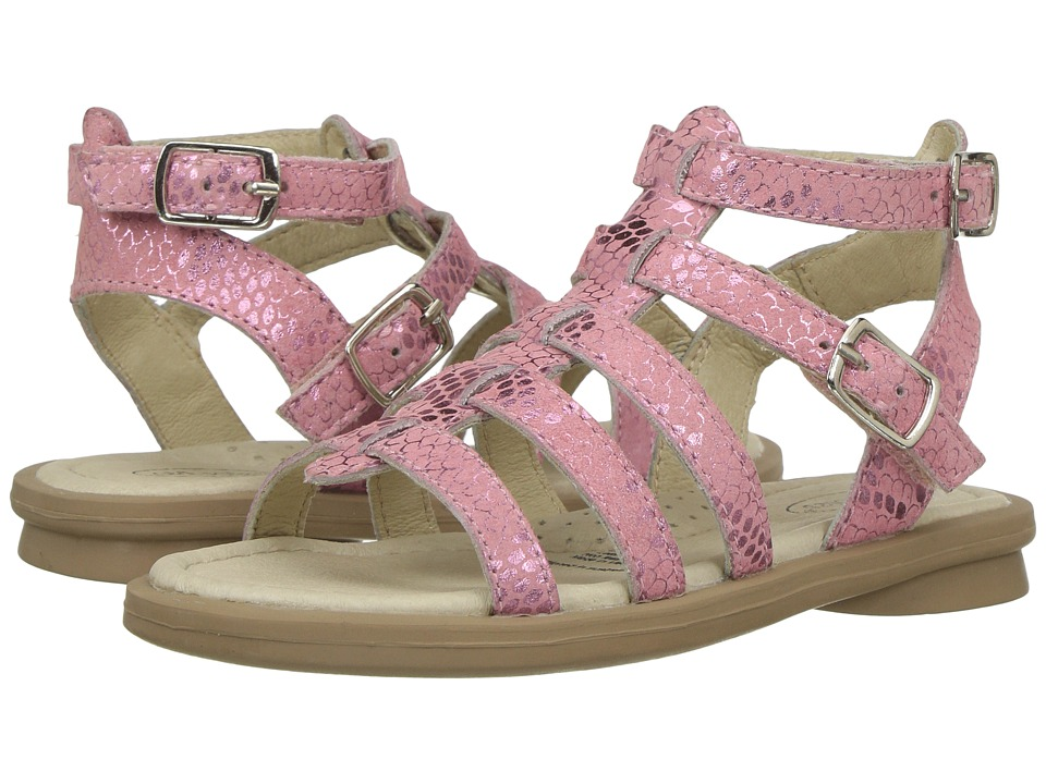 Old Soles Tall-Gladi (Toddler/Little Kid) (Pink Python) Girls Shoes