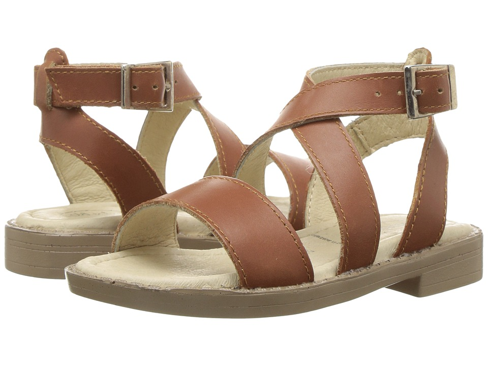 Old Soles Khaleesi Sandal (Toddler/Little Kid) (Tan) Girls Shoes