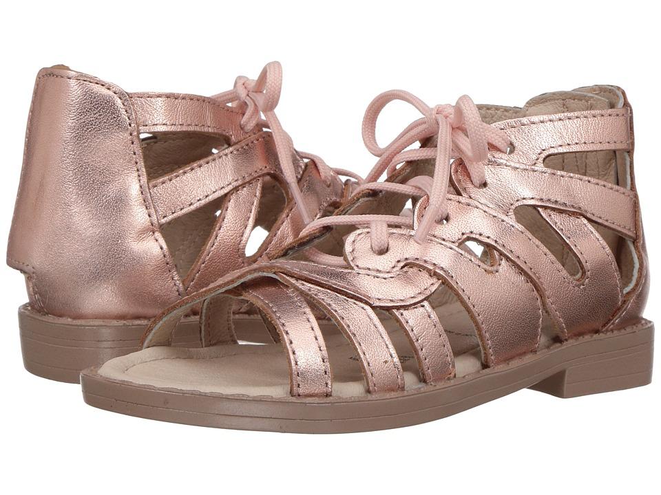Old Soles Glamourama Sandal (Toddler/Little Kid) (Copper) Girls Shoes