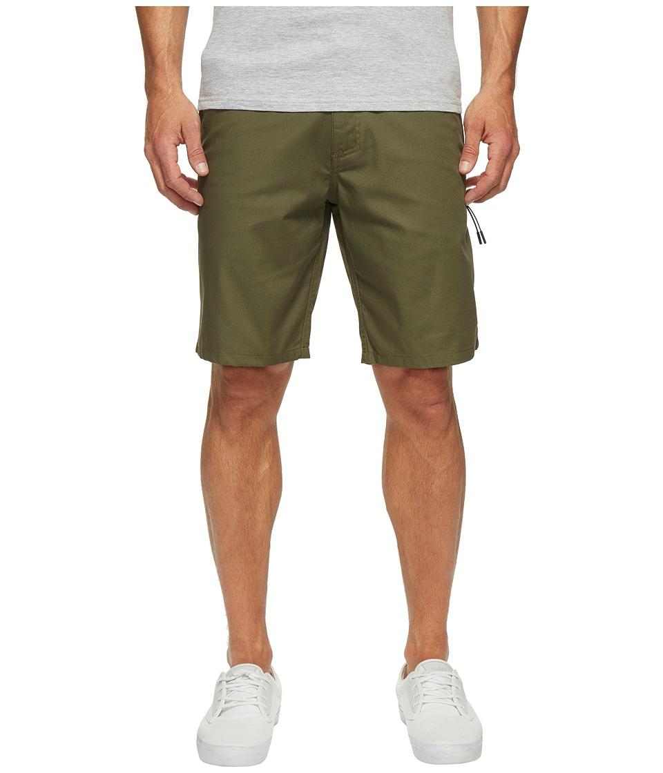 Oakley Icon Chino Shorts (Dark Brush) Men
