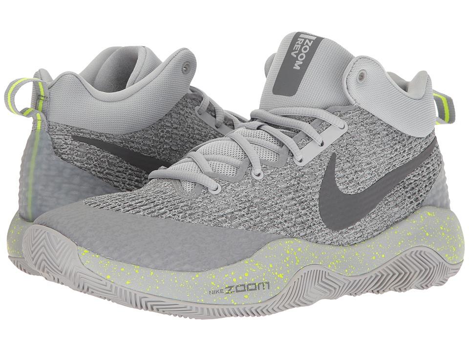 Nike Zoom Rev 2017 (Wolf Grey/Dark Grey/Cool Grey/Volt) Men