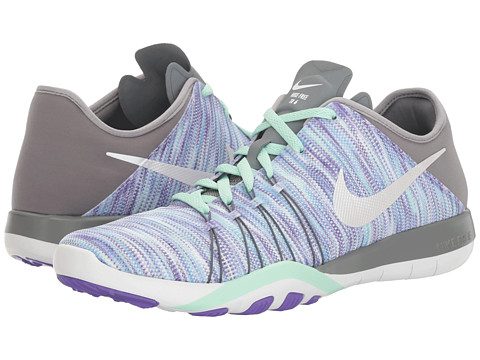 Nike Free TR 6 AMP Training Shoe - Hyper Grape/White/Cool Grey/Arctic Green