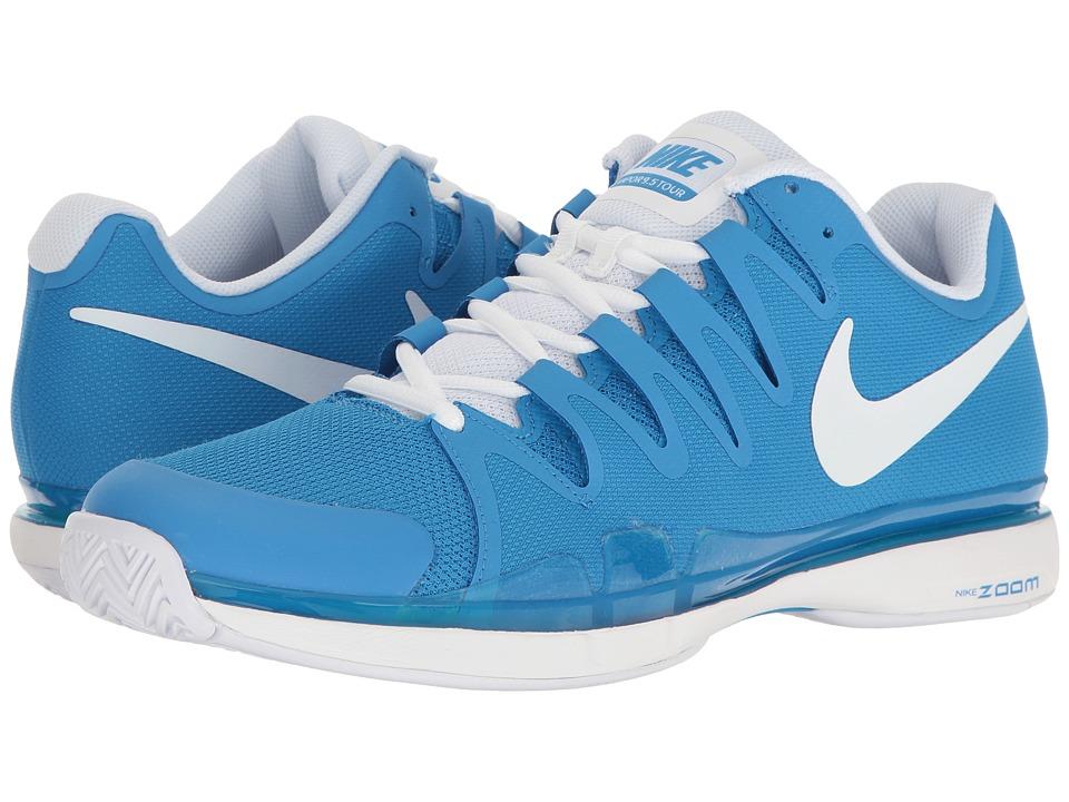 Nike Zoom Vapor 9.5 Tour (Light Photo Blue/White) Men
