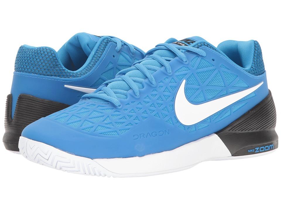 Nike Zoom Cage 2 (Light Photo Blue/White/Black) Men