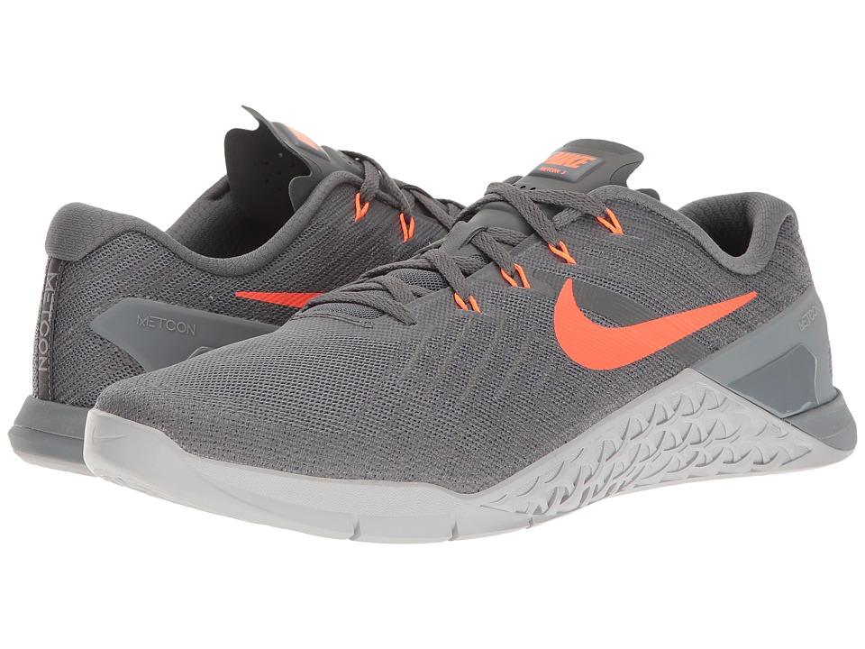 Nike Metcon 3 (Dark Grey/Hyper Crimson/Wolf Grey) Men