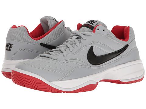 Nike Court Lite - Wolf Grey/Black/University Red