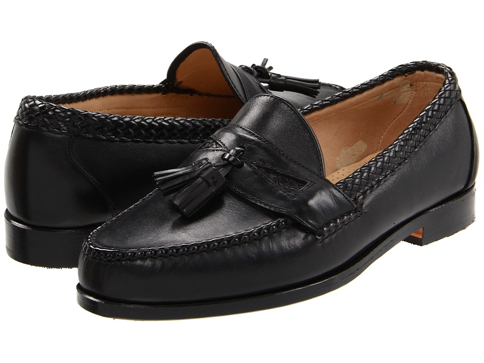 Allen Edmonds Maxfield Black Calf Mens Slip on Dress Shoes
