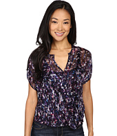 Lucky Brand - Pop Floral Cross Front Top