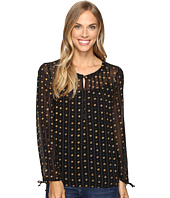 Lucky Brand - Metallic Dotted Top