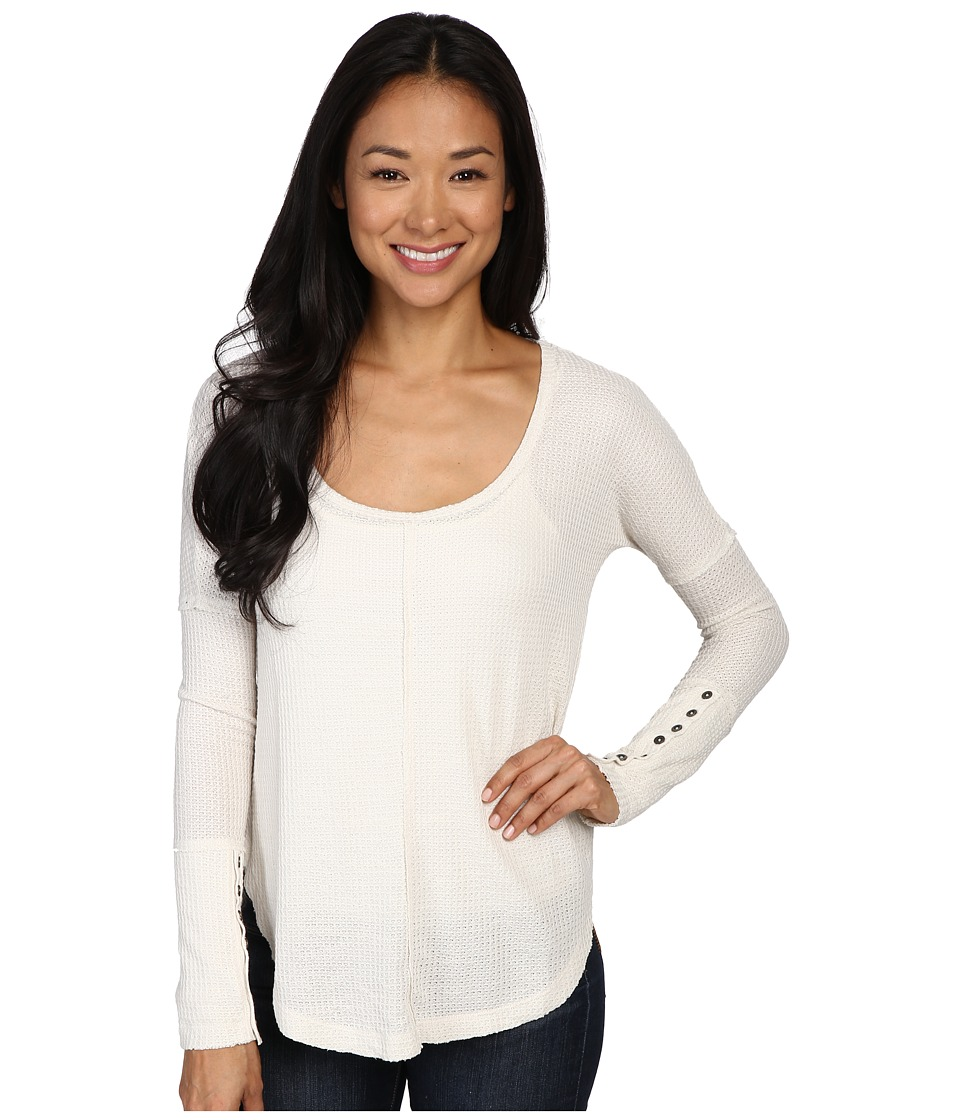 Lucky Brand Thermal Tee (Birch) Women