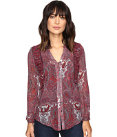 Lucky Brand - Contrast Embroidery Blouse