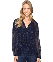 Lucky Brand - Pintuck Blouse