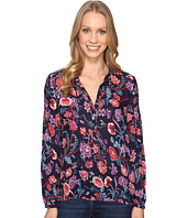 Lucky Brand - Tassle Floral Blouse
